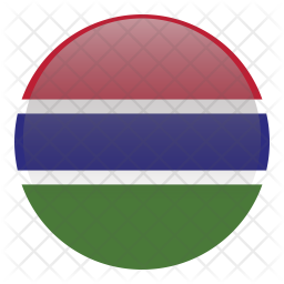 Gambia Flag Icon Of Flat Style Available In Svg Png Eps Ai Icon Fonts