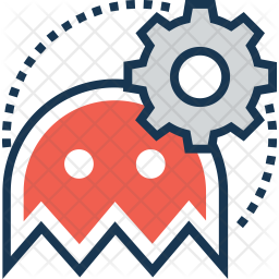 Game setting Colored Outline Icon