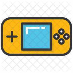 Gameboy Colored Outline Icon