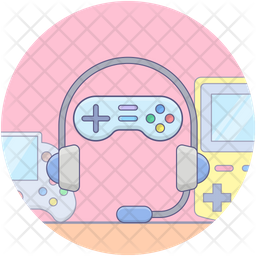 Gaming Devices Icon Of Colored Outline Style Available In Svg Png Eps Ai Icon Fonts