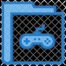 Gaming Files Folder Icon