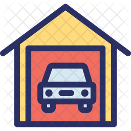 Garage Icon Of Colored Outline Style Available In Svg Png Eps Ai Icon Fonts