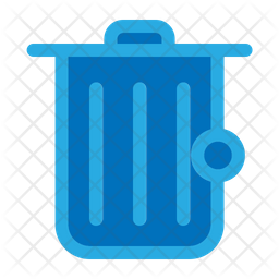 Garbage Colored Outline Icon