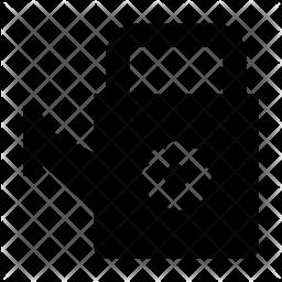 Garden Glyph Icon
