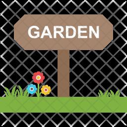 Garden Board Flat Icon