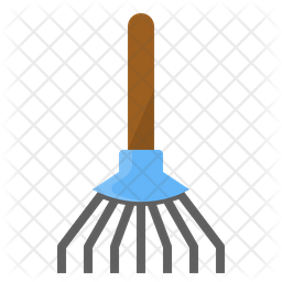Garden Broom Icon