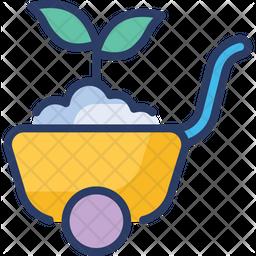 Garden cart Icon