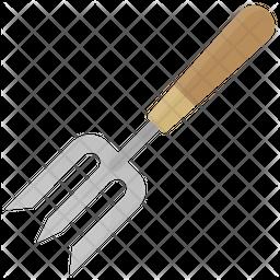 Garden Fork Icon