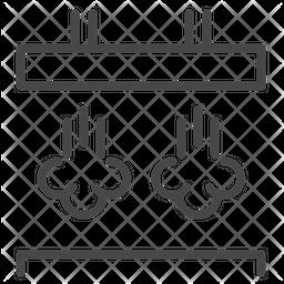 Garment factory Icon