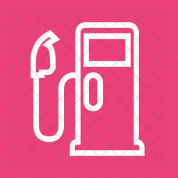 Gas Line Icon