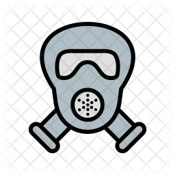 Gas Mask Icon Of Colored Outline Style Available In Svg Png Eps Ai Icon Fonts