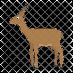Gazelle Dorkas Icon