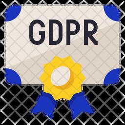 GDPR  Certification Icon