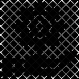 Gear Glyph Icon