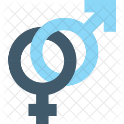 gender symbols icon of flat style available in svg png eps ai icon fonts gender symbols icon