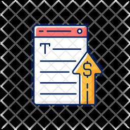 Generating income Icon