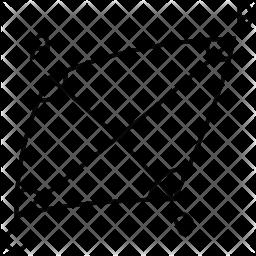 Geometric Angles Icon