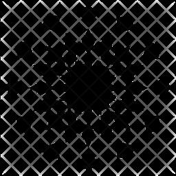 Geometric Radial Icon