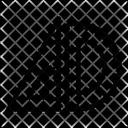 Geometric Scales Icon