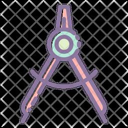 Geometry Compass Icon