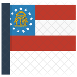 Georgia Flag Icon
