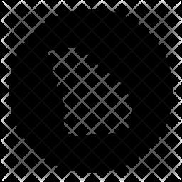 Georgia Glyph Icon