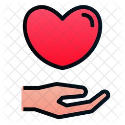 Get Love Icon Of Colored Outline Style Available In Svg Png Eps Ai Icon Fonts