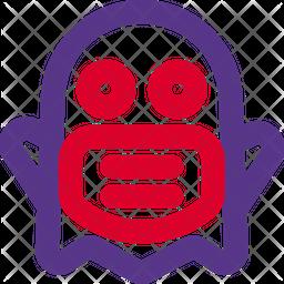 Ghost Dualtone  Emoji Icon