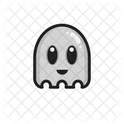 Ghost, Friendly, Halloween Icon png