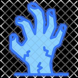 Ghost Hand Dualtone Icon