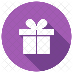 Gift Glyph Icon