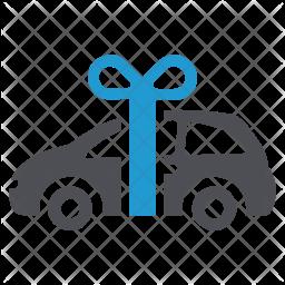 Gift car Icon