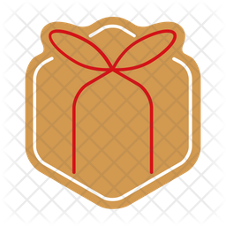 Gift gingerbread Icon