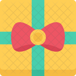 Gift, New, Year, Christmas, Winter, Holidays Icon