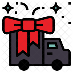 Gift Shipping Icon