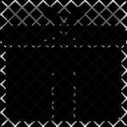 Giftbox Glyph Icon
