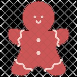Gingerbread man Icon