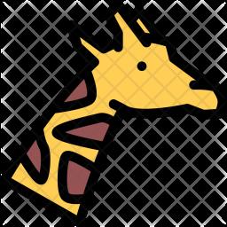 Giraffe, Pet, Animal, Vet, Store, Zoo Icon