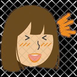 Laughing Girl Icon