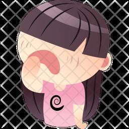 Sleepy Girl Icon