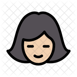 Girl Icon Of Colored Outline Style Available In Svg Png Eps Ai Icon Fonts