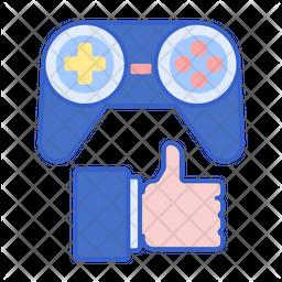 Girl Gamer Icon
