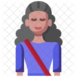 Girl Student Icon