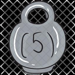 Girya Weight Icon