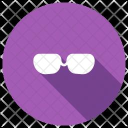 Glasses Glyph Icon