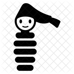 Glo Worm Glyph Icon