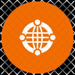 Global Glyph Icon