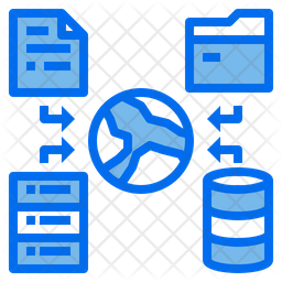 Global Data Dualtone Icon