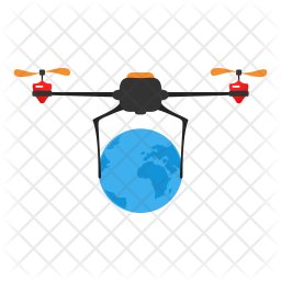 Global Drone Icon