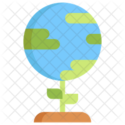 Global Environment Flat Icon